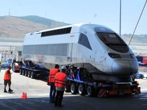 Morocco High Speed train